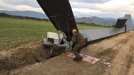 Avión artesanal estaba listo para volar a Costa Rica con 171 kilos de cocaína