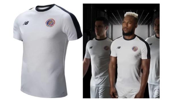 Camiseta de Costa Rica es la sétima más bonita del Mundial de Rusia ... 948e59da2601a