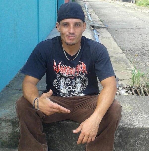 José David Villalobos Araya, de 33 años, murió de una puñalada. Foto: Cortesía
