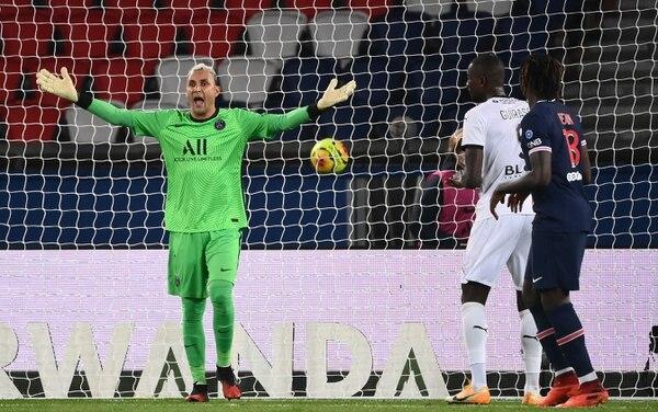 El PSG de Keylor Navas no puede permitirse otra derrota en Champions. Foto: AFP
