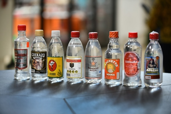 Estas marcas forman parte de la alerta sanitaria. Foto de Jorge Castillo
