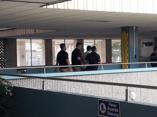 El sentenciado quedó preso de una vez. Foto: Keyna Calderón.