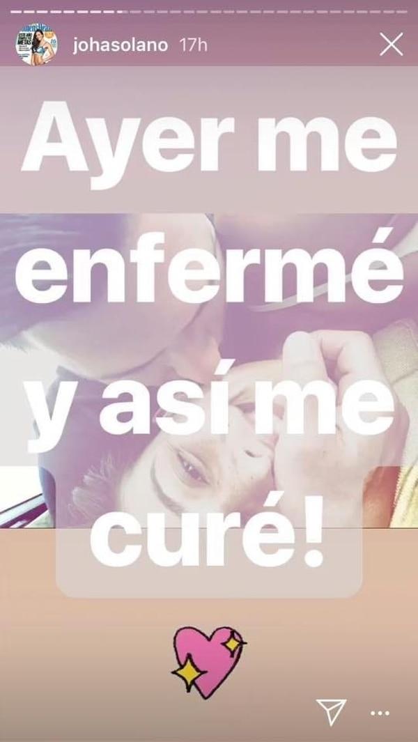 La propia exmiss Costa Rica fue la que reveló en su Instagram que hay un galán que la está curando. Instagram
