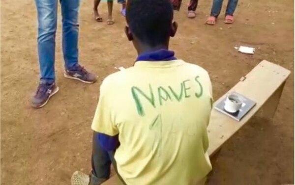 El propio David le puso a su camiseta el número uno y el apellido del Halcón tico. Cortesía.