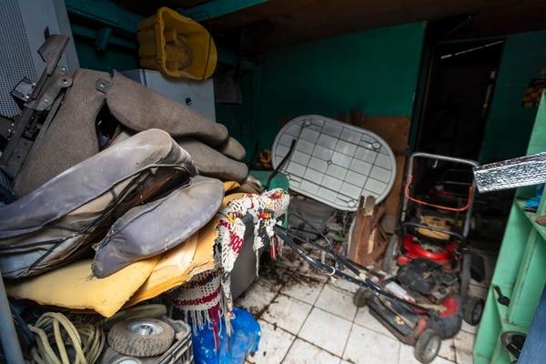 Esta era la casa en la vivía la niña junto a su familia, pero ahora es una bodega. Foto: José Cordero