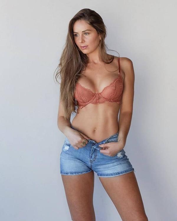 Nicole Carboni, modelo.